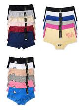 Cotton Blend Regular Size L Boyshorts Panties for Women