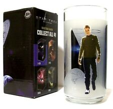 """STAR TREK """"JAMES T KIRK"""" Burger King (2008) Collector""""s Drink Glass NEW IN BOX!!"""