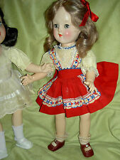 "Lovely Ideal 1949 TONI P90 14"" doll, original labeled dress, panties shoes,socks"