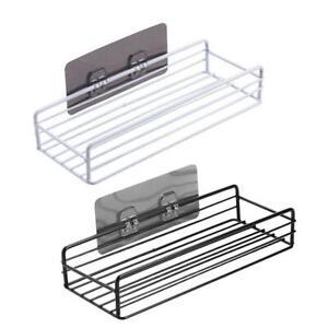 Wall Mount Bathroom Shower Gel Storage Rack Wash Supplies Organizer Shelf 3