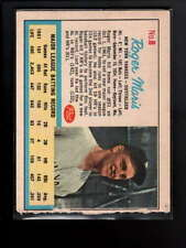 1962 POST CEREAL #6 ROGER MARIS ADD BACK EX D6992