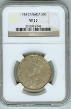 NGC VF35 1914 Canada 50c