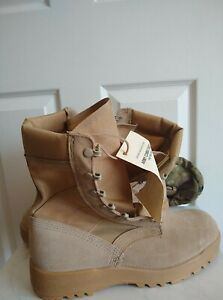 Vibram Army Combat Boots Hot Weather Size 10.5 R Plus Tool Pouch Assembly