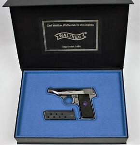 PISTOL GUN PRESENTATION CUSTOM DISPLAY CASE BOX for WALTHER MODEL 8  ppk p38 pp