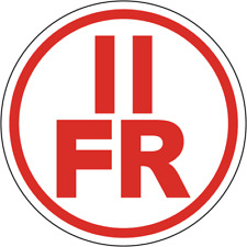 New York Floor/Roof Truss Circular Sign:  II FR