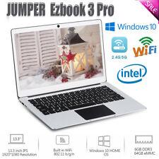 JUMPER Ezbook 3 Pro 13.3'' Laptop PC 6+64GB Intel Windows 10 WIFI BT4.0 Notebook