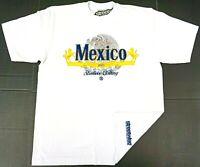 STREETWISE VIVA MEXICO T-shirt Urban Streetwear Tee Mens L-4XL White NWT