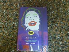 "Joker 2017 Weekly Pocket Planner Moleskin 3.5 X 5.5"" Hardcover Sealed '66 Batman"