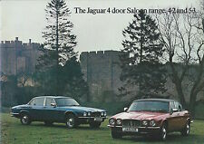 Jaguar XJ 4.2 5.3 Range • 1978 • Brochure Prospekt • German • EXCELLENT