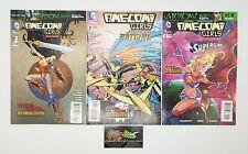 Ame-Comi Girls #1 2 & 5 Set of 3 Comic Book Lot DC Comics Wonder Woman Batgirl