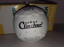 "Debeer Corker Clincher 12"" Softballs (2) & *Free Easton Softball Dry Erase Board"
