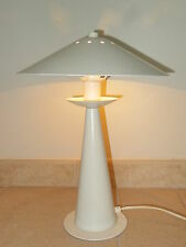 ancienne lampe de bureau cocotte ALUMINOR design french desk lamp modernist 1980