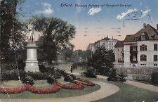 I 95-Erfurt in Turingia, pförtchen impianti con Reichardt monumento, 1913 GLF.