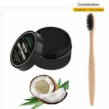 100% NATURAL ORGANIC COCONUT ACTIVATED CHARCOAL TEETH WHITENING POWDER HOT HOT