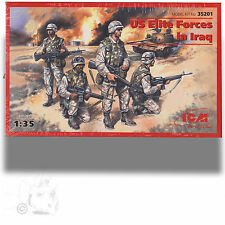 ICM 1/35 US ELITE FORCES IN IRAQ MODEL KIT NO 35201