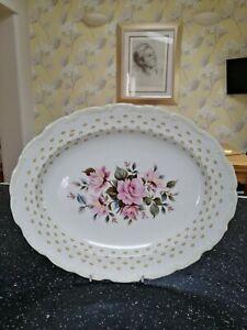 Royal Albert MARIE LOUISE oval serving platter