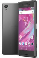 Sony Xperia X F5121 - 32GB - Graphite Black (LOCKED) Smartphone Used Working 5""
