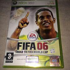 FIFA 06 ROAD TO THE WORLD CUP XBOX 360 GIOCO COMPLETO ***