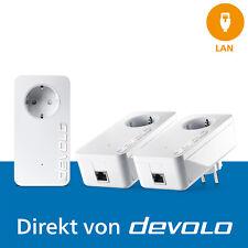 devolo dLAN 1200+, 3 Powerline Adapter, Internet aus der Steckdose, 1200 Mbps