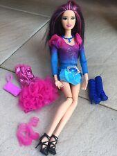 BARBIE fashionistas Raquelle Rainbow Wave 1 Komplett Kleidung Outfit
