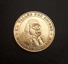 Monnaie de Paris - Romagne 1999 Vallée des Singes Vienne Jeton Mdp Touristique