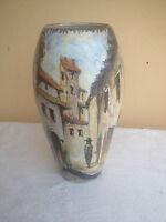 Grande Portafiori in ceramica Scars design anni 50