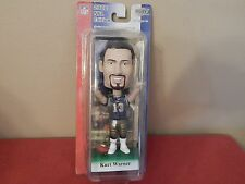 2002 NFL EDITION PLAY MAKER KURT WARNER BOBBLE HEAD + CARD -  NFL UPPER DECK