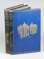 Rudyard Kipling - The Jungle Books, first British editions, Macmillan 1894-1895