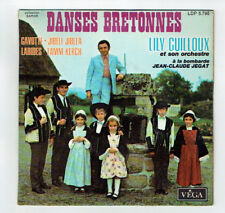 """Lily GUILLOUX Vinyle 45T EP 7"""" DANSES BRETONNES Folk Folklorique VEGA 5795 RARE"""