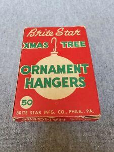 Vintage Brite Star Christmas Ornament Hangers