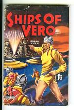 SHIPS OF VERO by Shaw, rare British Curtis 1952 sci-fi digest pulp vintage pb