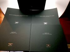 Rare! Bentley Sales Brochure Box featuring Brooklands Arnage And Azure-4 Books!