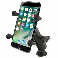 RAM Track Mount w/ X-Grip Holder for Large Cell Phone/Smartphone - Fits w/ Cases