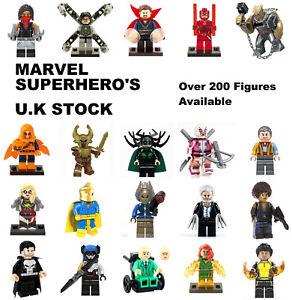 Marvel Minifigure Avengers Lego & Custom Minifigures Mini Figure BUY 3 & 1 FREE