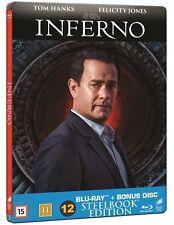 Inferno Limited Edition Steelbook Blu ray + Bonus Disc (Region B,C)