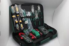 Mastech Electrician Kit Ms5902 Ms8233b Ms2008a Ms6906 Clamp Meter Tool Set Usa