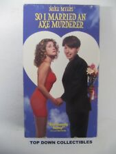 So I Married An Axe Murderer, Mike Myers, Nancy Travis VHS Movie