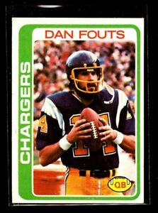 1978 TOPPS #499 DAN FOUTS CHARGERS NM/MT D023875