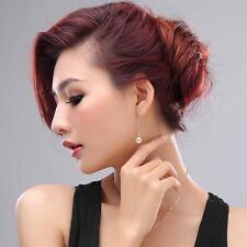 Drop/dangle Lady Freshwater Pearl Earrings Silver Plated Ear Stud
