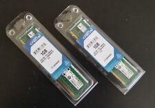 Crucial  PC2-6400 Kit 2x1GB DIMM 800 MHz DDR2 SDRAM Memory (CT2KIT12864AA800)