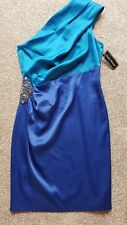 SIZE 12 LADIES BRAND NEW JESSICA HOWARD TWO TONE BLUE COCKTAIL CRUISE PARTY...