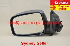 NEW DOOR MIRROR FOR HOLDEN RODEO RA 2003-2008 LEFT SIDE (CHROME, MANUAL)