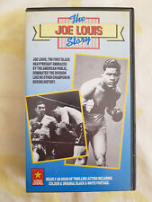 The Joe Louis Story - Box Champion - Rarität!! VHS