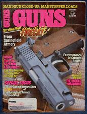 Vintage Magazine *GUNS* June, 1992 !! SMITH & WESSON Model 940 9mm REVOLVER !!