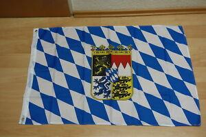 Fahne Flagge Bayern Wappen - 60 x 90 cm