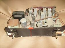 Vintage Emerson 866 Console Tube Radio Stereo Phonograph Amfm Tube Tuner
