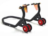 Cavalletto Anteriore Alzamoto Con Supporti - Alza Moto Universale Regolabile
