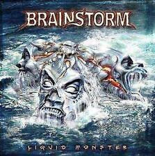 Brainstorm-Liquid MONSTER-CD + DVD NUOVO worlds are Comin 'through