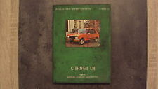 """EPA - Votre Citroën LN - Collection """"votre voiture"""" 1978"""