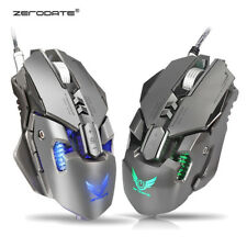 ZERODATE X300 USB Wired 4000DPI 7Buttons Optical Gaming Mouse LED Backlight